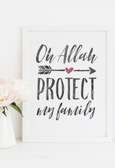 Islamic Posters, Islamic Quotes, Blessed Wallpaper, Islamic Wall Decor, Muslim Family, Drawing Journal, Islamic Gifts, Islamic Calligraphy, House Interiors
