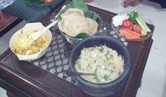 Indian pure veg home made yummmm Pulao and Puri with a vegie
