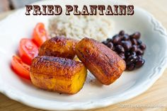 Easy to Make Fried Plantain Recipe | Costa Rican Dishes | PicklesTravel