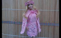 Платье. Свяжем ажурное платье с накидкой. Openwork knit dress with a cape.