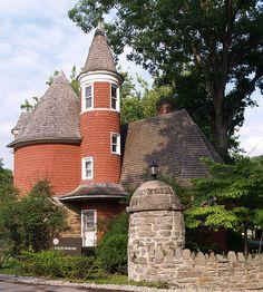 Gatehouse at Davis & Elkins College in West Virginia