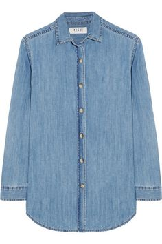 MiH Jeans | The Loose denim shirt | NET-A-PORTER.COM