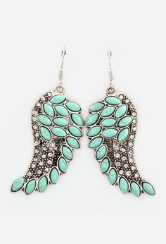 Angelica Earrings in Turquoise