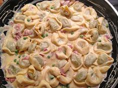 Tortellini alla panna (Rezept mit Bild) von lacarrona | Chefkoch.de