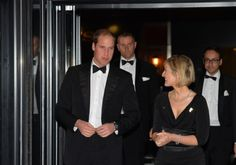 In London, the Duke of Cambridge Attended the gala dinner for the 150th anniversary of the English Football Association of which he is honorary president