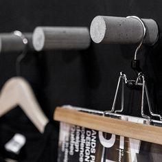 hanger pegs for closet, bathroom or coat rack.
