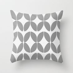 Hypnosis Minimalist Throw Pillow by Catherine Holcombe - $20.00