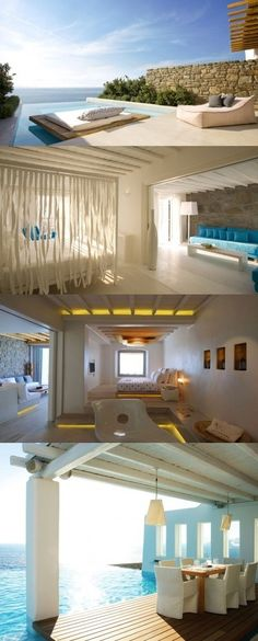Cavo Tagoo hotel, Mykonos Island in Greece