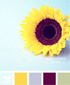 Love the blues. I think the yellow is too dark for my plans, but maybe a lighter hue?  sunflower glow