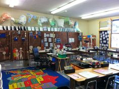 Looking for activities to teach Colonial America? Here are a bunch of ideas in one classroom! (pic heavy!)