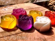 We are jelly phuket We manufacture fruit jelly Using water from the fruit flavor textural and color of the fruit is 100%.