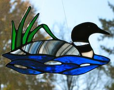 Stained glass loon - I made this before, I must have the pattern in my box somewhere.
