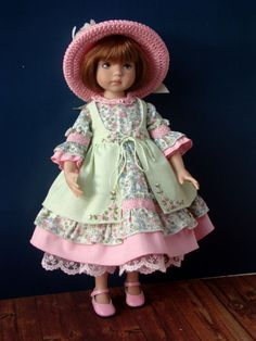 "Outfit for doll 13"" Little Darling by Dianna Effner"