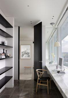 Study.  Bird de la Coeur Architects interiors: Hecker Phelan Guthrie Photo: Dianna Snape
