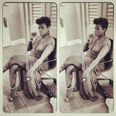 She Lives in MusicBarrino Family this is For All Of Us... Sang #fantasia