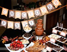 Choctober Fest!  A party (or date) all about chocolate!