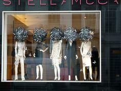 Stella McCartney shop window display for autumn 2011