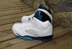 "Perfect Air Jordan 5 ""Grapes"""