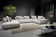 Jedna z naszych nowości 2019 - zestaw modułowy Taos! #ArisConcept Outdoor Sectional, Sectional Sofa, Outdoor Furniture, Outdoor Decor, Home Decor, Modular Couch, Decoration Home, Corner Couch, Room Decor