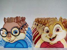 Porta guardanapos Alvin e os Esquilos