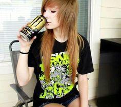 #scene girl#scene hair#monster #
