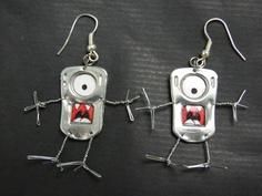 Petit monstre de métal et de fil de fer !
