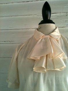 Vintage Secretary Shirt  Vintage Cream by runaroundsuevintage, $22.00