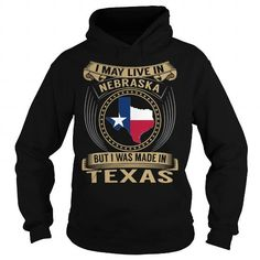 Live in Nebraska - Made in Texas - Special #state #citizen #USA # Nebraska #gift #ideas #Popular #Everything #Videos #Shop #Animals #pets #Architecture #Art #Cars #motorcycles #Celebrities #DIY #crafts #Design #Education #Entertainment #Food #drink #Gardening #Geek #Hair #beauty #Health #fitness #History #Holidays #events #Home decor #Humor #Illustrations #posters #Kids #parenting #Men #Outdoors #Photography #Products #Quotes #Science #nature #Sports #Tattoos #Technology #Travel #Weddings…