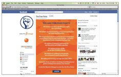 The Free PARTY loves facebook