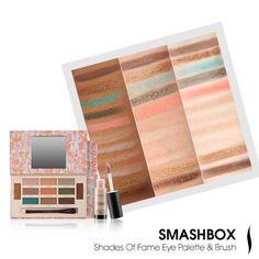 Smashbox Shades of Fame Eye Palette & Brush #SummerPalettes #Sephora #eyecandy