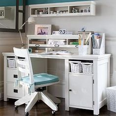Girls bedroom desk teenage room ideas attractive bedroom desks girls teenage bedrooms teens desk and latest Teen Girl Desk, Room Decor For Teen Girls, Teen Girl Rooms, Teenage Room, Kid Desk, Teenage Girl Bedrooms, Kids Rooms, Bedroom Desk, Small Room Bedroom