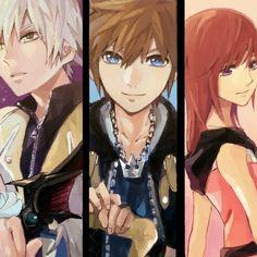 Pixiv Id 748040, Disney, SQUARE ENIX, Kingdom Hearts 3D: Dream Drop Distance, Kingdom Hearts II, Kingdom Hearts