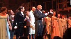 """To distract from his negative media coverage this week, Donald Trump exploited Mike Pence's """"Hamilton"""" theater experience on Twitter, writes theater critic Kate Maltby."""