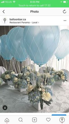 best Ideas for baby shower ideas for girls diy decoration crafts blue # baby shower centerpieces for boys best Ideas for baby shower ideas for girls diy decoration crafts blue Décoration Baby Shower, Baby Shower Balloons, Shower Party, Baby Shower Parties, Shower Favors, Shower Invitations, Baby Showers, Baptism Invitations, Girl Shower