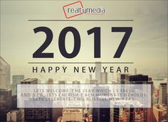 It isn't only a new year; it is a new chance for everyone to restart! Wish you a very Happy New Year!  #realtymedia #happynewyear