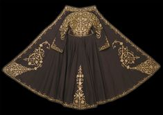 Ioanina Costumes Around The World, Moroccan Dress, Dress Neck Designs, Gold Work, Folk Costume, All Fashion, Capes, Indian Wear, Traditional Outfits