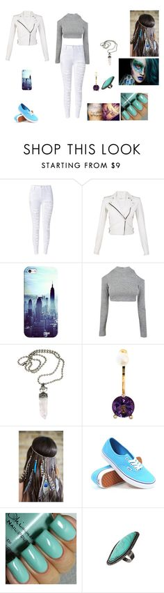 """The Twin Alpha's #25"" by jazmine-bowman on Polyvore featuring IRO, Casetify, Delfina Delettrez, Vans and Topshop"