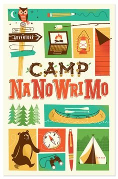 Camp NaNoWriMo by Brave the Woods