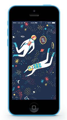 naomiwilkinson:  You can download one of my designs as a wallpaper for your fancy smart phones here. Courtesy of the wonderful Lagom Design.  nice!
