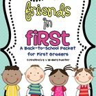 This 73 page packet has everything you need to start off a fantastic year in first grade. The beginning of the school year is such a fun and ma...