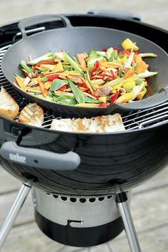 Libérez votre créativité culinaire grâce au pack #GourmetSystem de #Weber.
