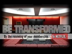 Hipster Devotional #13: Be Transformed