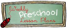 weekly preschool lesson plans