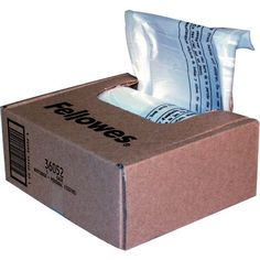 Fellowes 36052 Waste Bags For Small Office Shredders