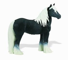Wild Safari Winners Circle Gypsy Vanner Stallion Horse Toy Model - $8.99 in stock! Giddy up on over to see whats new at www.HorseToysSuperstore.com. We have a fantastic collection of horse toys and gifts for horse lovers!