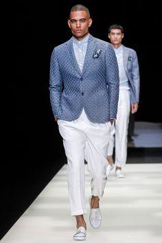 Giorgio Armani: menswear spring/summer 2018