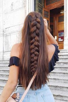 There are so many braided hairstyles for long hair that your head starts to spin when you try to choose one. The choice will be easier for you with us. #hairstyle #haircolor #haircuts