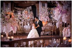 This is a New York wedding held at The Pierre Hotel. Ceremony and Reception provided by the Pierre and photographed by Brett Matthews Photography.