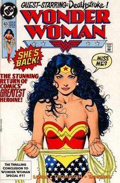Wonder Woman #63 - Operation: Cheetah Part 2