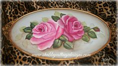 Vintage roses painting, cottage roses, vanity tray, vintage decor, shabby cottage chic , wall decor, cottage roses, pink roses, home decor, by CottageDesignStudio on Etsy https://www.etsy.com/listing/218681044/vintage-roses-painting-cottage-roses